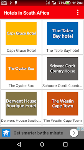 Hotels in South Africa - Cape Town Hotels - náhled