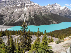 Photo: Der Lake Peyto
