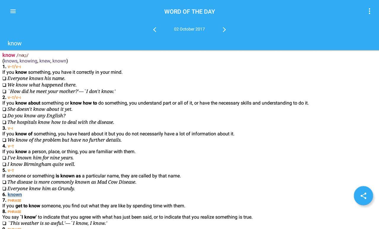 collins cobuild english dictionary apk