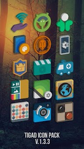 Tigad Pro Icon Pack v2.4.0 [Patched] APK 1