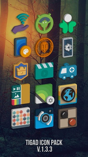 Tigad Pro Icon Pack v1.9.3 [Patched]