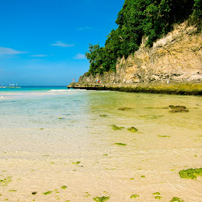 Boracay Low Tide by Israel  Padolina - Novices Only Landscapes ( water, beach, landscape )