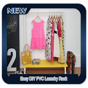 Easy DIY PVC Laundry Rack icon