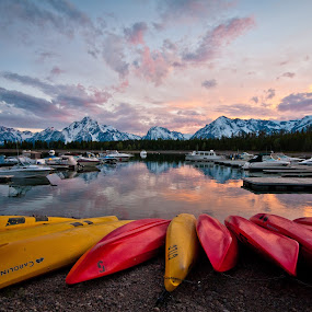 Colter Bay by Daniel Olsen - Landscapes Travel ( vacation, scenic, grand teton national park )