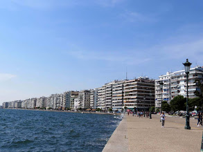 Photo: Thessaloniki - seaside promenade