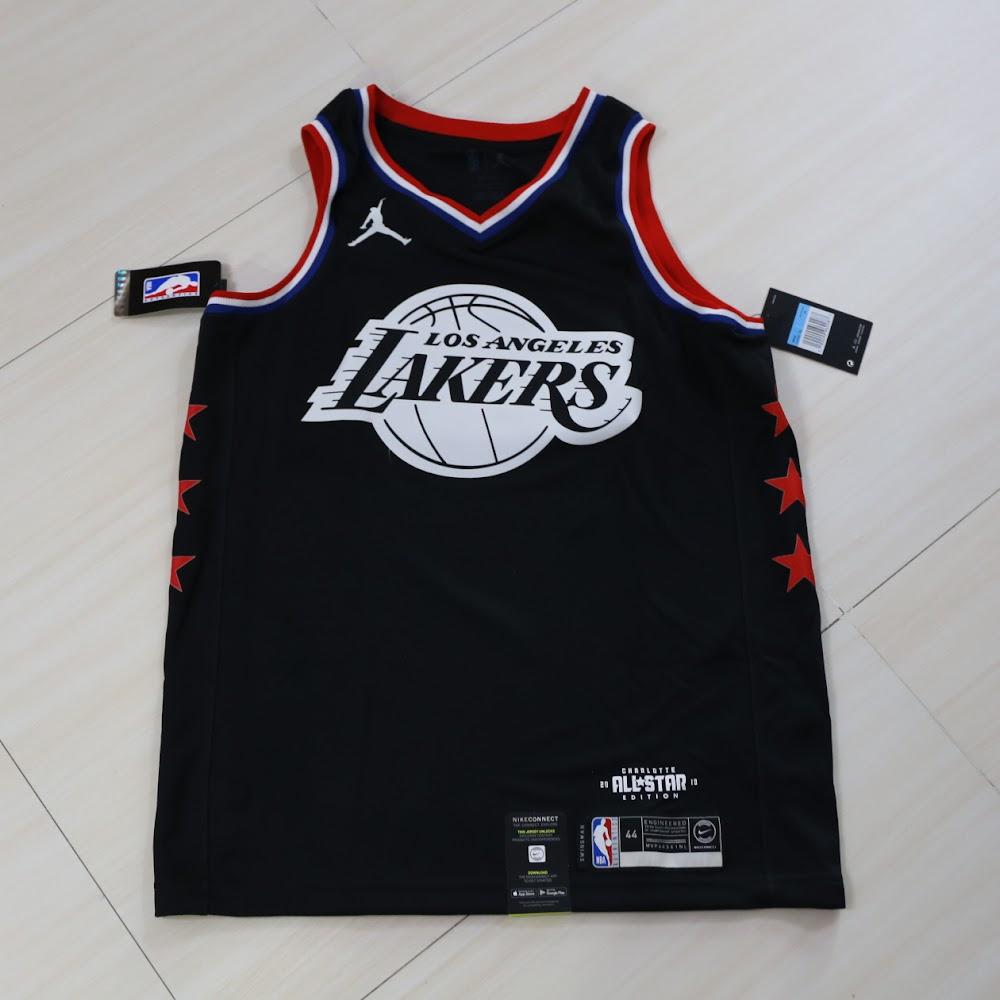 outlet store 9d0b6 889cc Nike 2019 NBA All Star LA Lakers Lebron James Jersey 2019明星賽湖人勒邦占士球衣