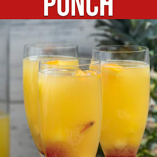 Hawaiian Champagne Punch.