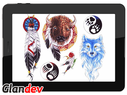 Animal Tattoo Design - náhled