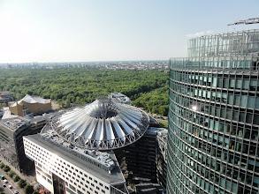 Photo: Sony-Center und Bahn-Tower