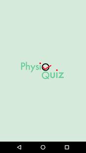 PhysioQuiz - náhled