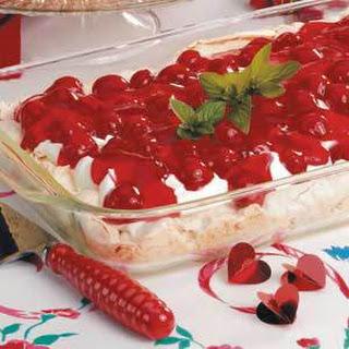 Cherry Meringue Dessert