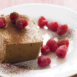 Chocolate Semifreddo with Fresh Raspberries Recipe