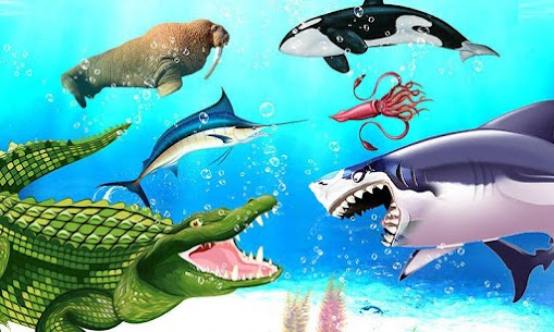 Sea Animal Kingdom: War Simulator 1.0.5 Latest MOD Updated 1