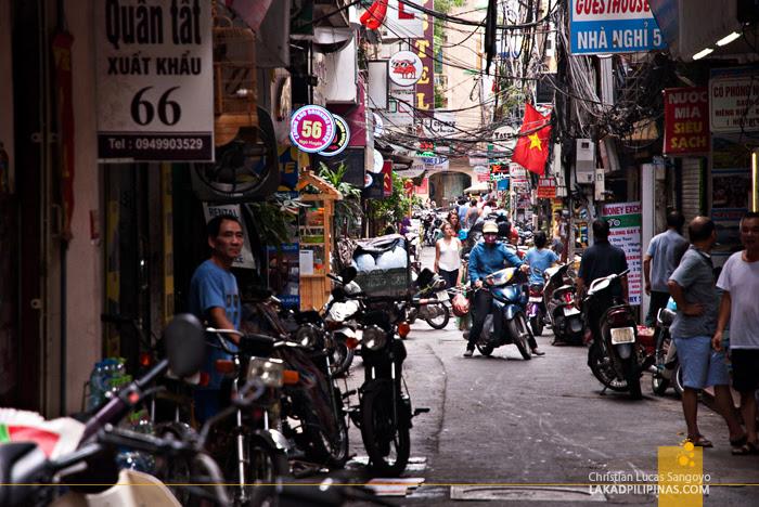Alley Hanoi Vietnam