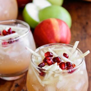 Sparkling Apple Cider Sangria.