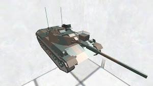 74式戦車 ディティールちょいアップ版