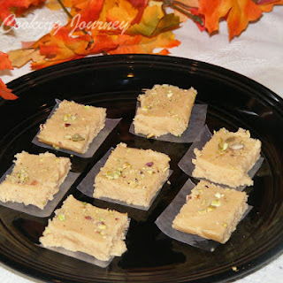 Kalakand – a Popular Bengali Sweet Made with Ricotta Cheese (Blogging Marathon – 29) Recipe