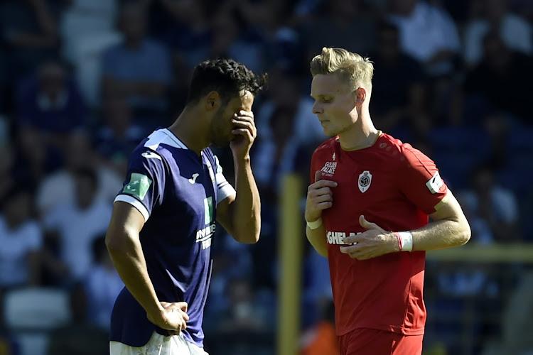 """Chadli, meilleur Mauve et frustré : """"On n'a pas vu l'Antwerp ..."""""""