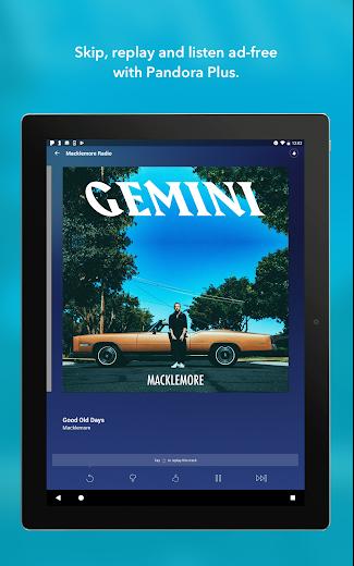 Screenshot 7 for Pandora's Android app'