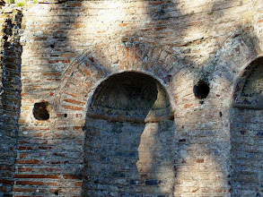 Photo: Butrint - Nympheion 2nd century AD with paintings in the niches