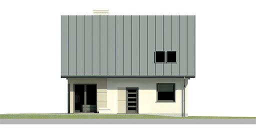 Dom przy Cyprysowej 23 - Elewacja przednia