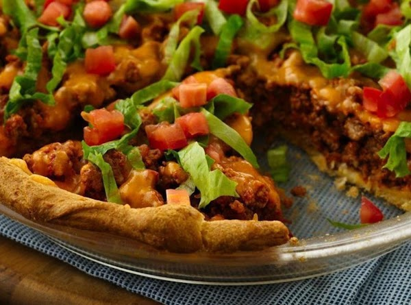 Easy Crescent Taco Bake Recipe
