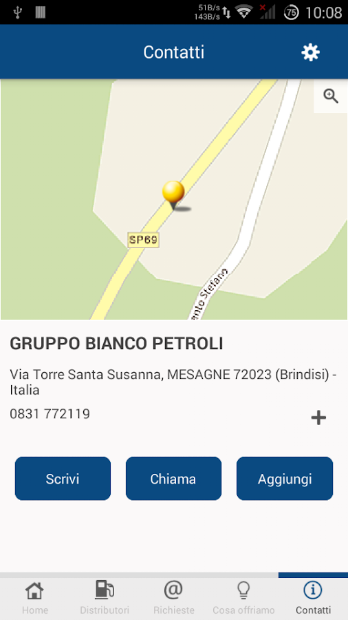 Bianco Petroli- screenshot
