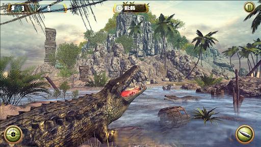 Crocodile Hunt and Animal Safari Shooting Game apklade screenshots 2