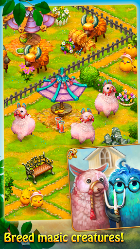 Charm Farm - Forest village android2mod screenshots 4