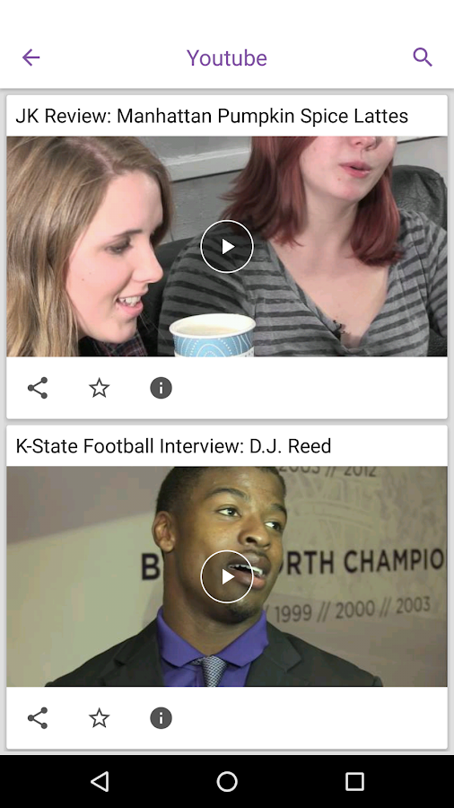 K-State Collegian- screenshot