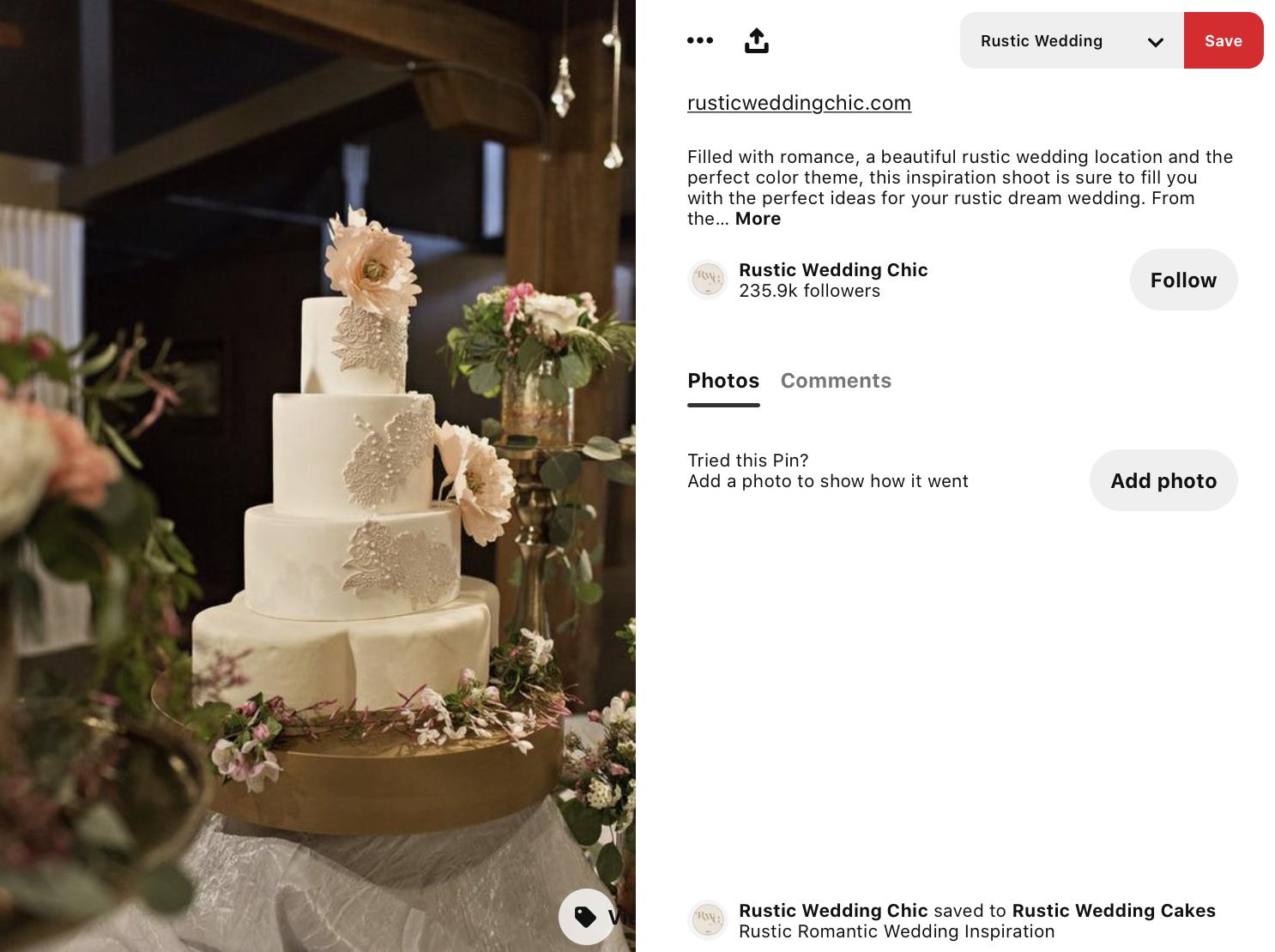 lace on a wedding cake