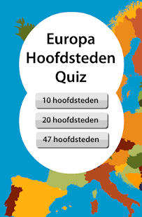 Hoofdsteden Quiz Europa- screenshot thumbnail
