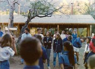 Photo: 1989 - Bariloche, Campamento anual Tropa, Cabaña y Postas Cabaña San Andrés