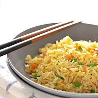 Simple Vegan Fried Rice.