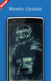 Richard Sherman Wallpaper Art NFL - náhled