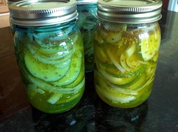 Refrigerator Bread & Butter Pickles (sliced) Recipe