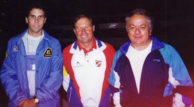 Photo: Toño Gárate, Jose Amengual y Willy Hermoza en el Mundial de Ilo 1994