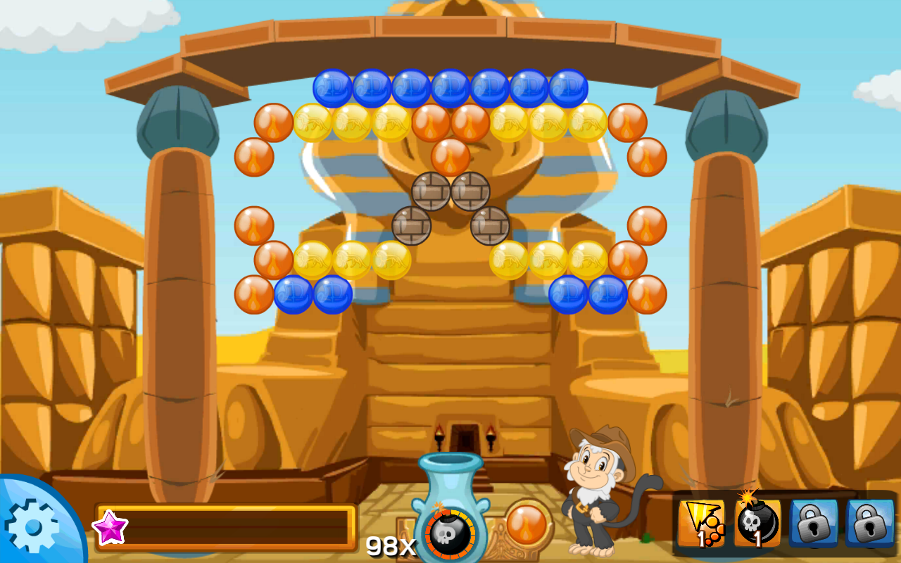 Bubble Raider- screenshot