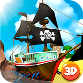 Pirate Battleship Fight 3D