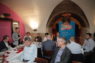 Photo: Working Dinner on Next Steps for the Startup Manifesto Movement