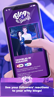 Game Love Story Games: Blog of Secrets APK for Windows Phone