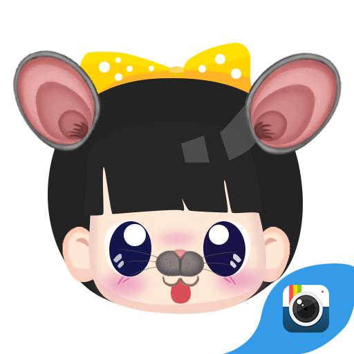 (免费)极相机贴纸-疯狂动物园 個人化 LOGO-玩APPs