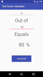 Test Score Calculator (Percent) - náhled