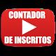 CONTADOR DE INSCRITOS EM TEMPO REAL (app)