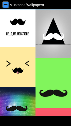 Mustache live wallpaper for Android Mustache free