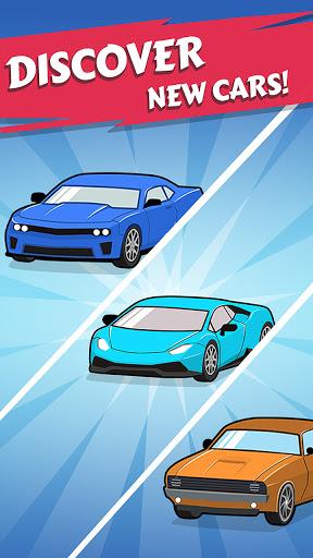 Merge Car game free idle tycoon 1.1.12 screenshots 4