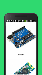Arduino Bluetooth 4 ch with tutorial - náhled