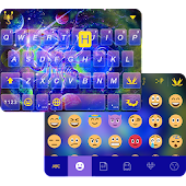 Scorpio Emoji Keyboard Theme
