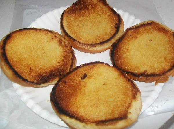 Butter and toast the buns { this is just another level of flavor !...