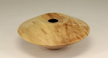 "Photo: Joe Stout 6 1/2"" x 3"" 1st hollow form [maple]"